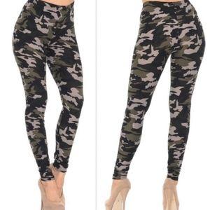 Camouflage Leggings One Size 0-12